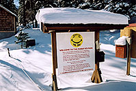 /images/133/2005-03-ouray-smiley-sign.jpg - #02564: morning in Ouray … March 2005 -- Ouray, Colorado