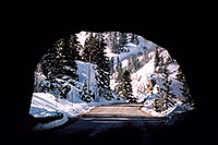 /images/133/2005-03-ouray-tunnel2.jpg - #02541: tunnel near Ouray … heading to Silverton … March 2005 -- Ouray, Colorado