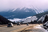 /images/133/2005-03-silverthorne-evenin.jpg - #02577: road near Silverthorne, after Eisenhower Tunnel … March 2005 -- Silverthorne, Colorado