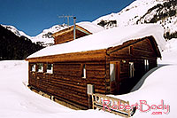 /images/133/2005-03-silverton-shack-sea.jpg - #02579: snowy cottage near Silverton … March 2005 -- Silverton, Colorado