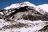 /images/133/2005-03-silverton-view-abov.jpg - #02566: view of Silverton from the road above … March 2005 -- Silverton, Colorado