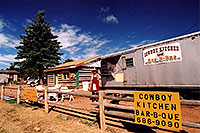 /images/133/2005-09-divide-cowboy2.jpg - #02621: Jeff in front of Cowboy Kitchen Bar-B-Que … Sept 2005 -- Divide, Colorado