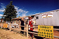 /images/133/2005-09-divide-cowboy6.jpg - #02598: Jeff and Debbie at Cowboy Kitchen Bar-B-Que … Sept 2005 -- Divide, Colorado