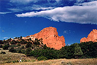 /images/133/2005-09-gardgods3.jpg - #02613: morning at Garden of the Gods … Sept 2005 -- Garden of the Gods, Colorado Springs, Colorado