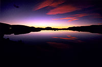/images/133/2005-09-indep-lake-sunset.jpg - #02645: Sunset at Independence Pass … Sept 2005 -- Independence Pass, Colorado