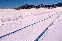 /images/133/2006-02-hartsel-snow5.jpg - #02773: new car tracks in the snow … images of Wilkerson Pass & Hartsel … Feb 2006 -- Wilkerson Pass, Colorado
