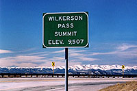 /images/133/2006-02-wilkerson-sign2.jpg - #02822: Wilkerson Pass … Feb 2006 -- Wilkerson Pass, Colorado