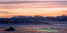/images/133/2006-02-wilkerson-view3-pano.jpg - #02798: sunset view near Wilkerson Pass and Hartsel … Feb 2006 -- Wilkerson Pass, Colorado