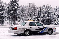/images/133/2006-03-i70-isprings-police.jpg - #02854: on I-70 near Idaho Springs … March 2006 -- I-70, Idaho Springs, Colorado