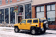 /images/133/2006-03-idaho-springs2.jpg - #02861: yellow Hummer H3 … images of Idaho Springs … March 2006 -- Idaho Springs, Colorado