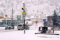 /images/133/2006-03-idaho-springs7.jpg - #02866: white Jeep Wrangler on a snowy midday … images of Idaho Springs … March 2006 -- Idaho Springs, Colorado