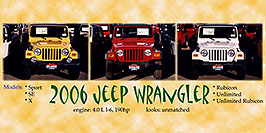 /images/133/2006-03-lithia-jeeps-pro1-pano.jpg - #02876: yellow, red and white 2006 Jeep Wranglers in Centennial … March 2006 -- Lithia Jeep, Centennial, Colorado