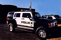 /images/133/2006-03-police-hummers04.jpg - #02891: Police Hummers H3 in Lone Tree … Feb 2006 -- Lone Tree, Colorado