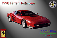 /images/133/2006-03-testarossa-pro1.jpg - #02896: red 1990 Ferrari Testarossa at Paragon Motorcars … March 2006 -- Centennial, Colorado