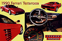 /images/133/2006-03-testarossa-pro2.jpg - #02897: red 1990 Ferrari Testarossa at Paragon Motorcars … March 2006 -- Centennial, Colorado