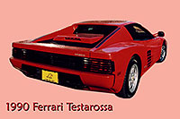 /images/133/2006-03-testarossa-pro3.jpg - #02898: red 1990 Ferrari Testarossa at Paragon Motorcars … March 2006 -- Centennial, Colorado