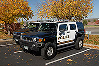 /images/133/2006-09-30-lonetree04.jpg - #02920: Police Hummers in Lone Tree … Sept 2006 -- Yosemite Rd, Lone Tree, Colorado