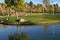 /images/133/2006-10-07-lone-merid-lake1.jpg - #02991: Meridian pond in Lone Tree … Oct 2006 -- Lincoln Rd, Englewood, Colorado