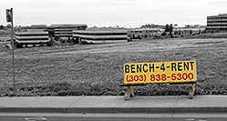 /images/133/2006-10-08-cent-bench.jpg - #02993: bench in Centennial … Oct 2006 -- Centennial, Colorado