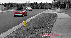 /images/133/2006-10-08-cent-mini01.jpg - #03004: red Cooper Mini in Centennial … Oct 2006 -- Centennial, Colorado