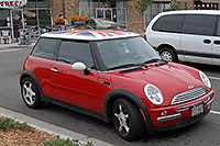 /images/133/2006-10-08-cent-mini05.jpg - #03008: red Cooper Mini in Centennial … Oct 2006 -- Centennial, Colorado