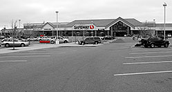 /images/133/2006-10-08-lone-safeway-bw.jpg - #03026: Safeway at Yosemite and Lincoln in Lone Tree … Oct 2006 -- Yosemite Rd, Lone Tree, Colorado