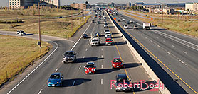 /images/133/2006-10-12-lone-i25-redmini.jpg - #03041: red Cooper Mini heading south on I-25 … Oct 2006 -- I-25, Lone Tree, Colorado