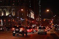/images/133/2006-10-18-tor-city-night04.jpg - #03056: Night traffic in Toronto … Oct 2006 -- Toronto, Ontario.Canada