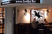 /images/133/2006-10-22-den-concourseb07.jpg - #03135: Cowboy Bar at in Concourse A at Denver airport … Oct 2006 -- Denver, Colorado