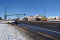 /images/133/2006-11-30-rem-road04.jpg - #03203: cars at Lincoln and Yosemite Rd in Lone Tree … Dec 2006 -- Yosemite Rd, Lone Tree, Colorado