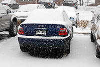 /images/133/2006-12-02-rem-view04.jpg - #03213: blue Audi A4 at Remington in Lone Tree … Dec 2006 -- Remington, Lone Tree, Colorado