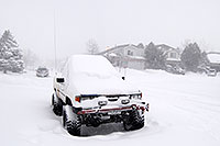 /images/133/2006-12-20-high-houses.jpg - 03209: Toyota truck during a snowstorm in Highlands Ranch … Dec 2006 -- Highlands Ranch, Colorado