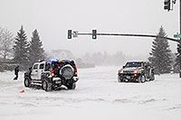 /images/133/2006-12-20-lone-lincoln02.jpg - #03262: Police directing traffic on Lincoln Rd … Dec 2006 -- Lincoln Rd, Lone Tree, Colorado
