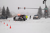 /images/133/2006-12-20-lone-lincoln03.jpg - #03263: Police directing traffic on Lincoln Rd … Dec 2006 -- Lincoln Rd, Lone Tree, Colorado