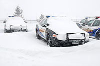 /images/133/2006-12-20-lone-sheriff02.jpg - #03269: Douglas Sheriff Police cars grounded during a snowstorm … Dec 2006 -- Lincoln Rd, Lone Tree, Colorado