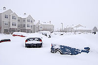 /images/133/2006-12-21-rem-snow03.jpg - #03303: ad-hoc parked cars during a December snowstorm … Dec 2006 -- Remington, Lone Tree, Colorado