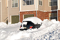 /images/133/2006-12-22-rem-sunny03.jpg - #03300: Scion xA after a snowstorm … Dec 2006 -- Remington, Lone Tree, Colorado