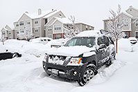 /images/133/2006-12-29-lone-snow-xterra.jpg - #03315: Xterra during a big snowstorm … December 2006 -- Remington, Lone Tree, Colorado