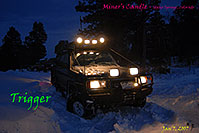 /images/133/2007-01-07-miners-trigger01.jpg - #03313: offroading in Trigger at Miner`s Candle … Jan 2007 -- Miner`s Candle, Idaho Springs, Colorado