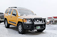 /images/133/2007-01-12-go-xterras03.jpg - #03374: yellow Nissan Xterra at GO Nissan on Arapahoe Rd … Jan 2007 -- Go Nissan, Englewood, Colorado