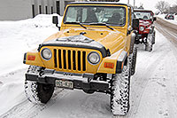 /images/133/2007-01-12-lithia-jeeps01.jpg - #03387: red and yellow Jeep Wranglers at Lithia Jeep … Jan 2007 -- Lithia Jeep, Englewood, Colorado