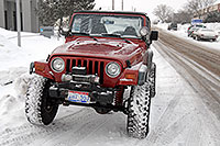 /images/133/2007-01-12-lithia-jeeps03.jpg - #03389: red and yellow Jeep Wranglers at Lithia Jeep … Jan 2007 -- Lithia Jeep, Englewood, Colorado