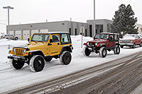 /images/133/2007-01-12-lithia-jeeps06.jpg - #03392: red and yellow Jeep Wranglers at Lithia Jeep … Jan 2007 -- Lithia Jeep, Englewood, Colorado