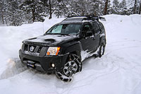 /images/133/2007-01-21-sed-xterra04.jpg - #03382: my Xterra with a single snowchain in a snowstorm by Sedalia … Jan 2007 -- Sedalia, Colorado