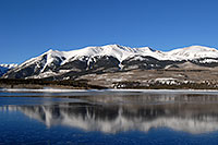 /images/133/2007-01-28-elbert-view2.jpg - #03463: reflection of Mt Elbert in Mt Elbert Forebay … Jan 2007 -- Mt Elbert Forebay, Twin Lakes, Colorado