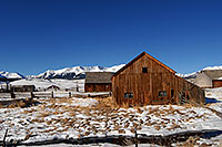 /images/133/2007-01-28-lead-shacks2.jpg - #03437: shacks south of Leadville, in neighborhood of Mt Elbert … Jan 2007 -- Leadville, Colorado