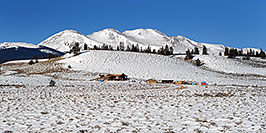 /images/133/2007-01-28-lead-view-pano.jpg - #03440: houses south of Leadville, in neighborhood of Mt Elbert … Jan 2007 -- Leadville, Colorado