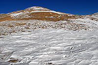 /images/133/2007-01-28-love-view06.jpg - #03486: hiker walking down east face of Loveland Pass … Jan 2007 -- Loveland Pass, Colorado