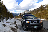 /images/133/2007-04-01-lead-i70-xterra.jpg - #03684: Xterra enroute to Leadville from Denver side … April 2007 -- Leadville, Colorado
