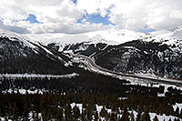 /images/133/2007-04-01-loveland-i70-01.jpg - #03692: view of I-70 and Eisenhower Tunnel from Loveland Pass … April 2007 -- Eisenhower Tunnel, Colorado